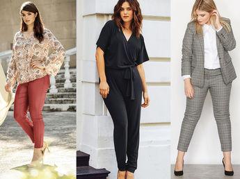 Automne hiver 2017 les 10 pi ces la mode pour parfaire votre garde robe ronde et belle - Vetement de bureau pour femme ...