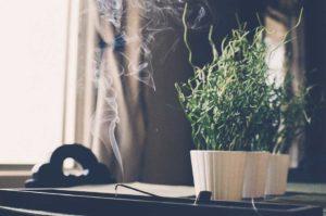 ambiances d'intérieur avec les encens naturels